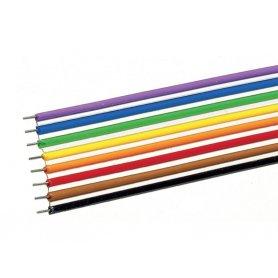 Câble plat 8 pôles - 10 mètres -  0,7 mm² - ROCO 10628