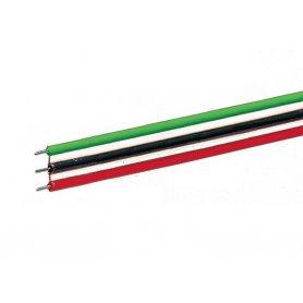 Câble plat 3 pôles - 10 mètres -  0,7 mm² - ROCO 10623