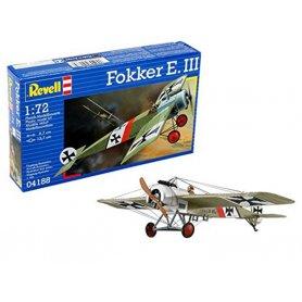 Fokker E. III - 1ère guerre mondiale - échelle 1/72 - REVELL 04188