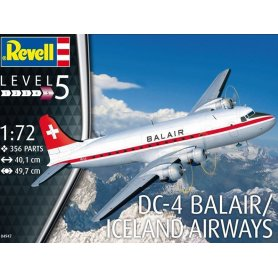 DC-4 BELAIR Iceland Airways - échelle 1/72 - REVELL 04947