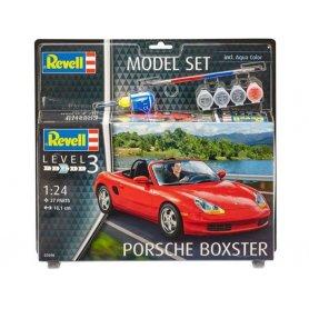Porsche Boxter kit complet avec peinture - échelle 1/24 - REVELL 67690