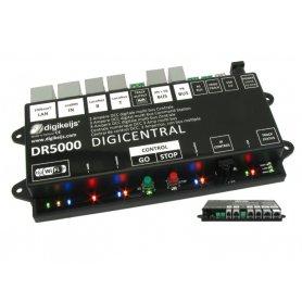 Centrale numérique DIGIKEIJS DR5000 DCC multi-bus