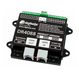 Module de rétrosignalisation 16 entrées, S88N IN/OUT DIGIKEIJS DR4088CS