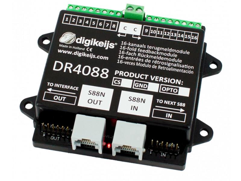 Digikeijs DR5088RC DIGIDETECT 16-fach RailCom-Rückmeldemodul H0 TT N NEU OVP