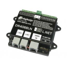 Module de rétrosignalisation 16 entrées Loconet DIGIKEIJS DR4088LN-GND (3 rails)