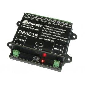 Décodeur accessoires 16 sorties / 8 aiguillages DIGIKEIJS DR4018