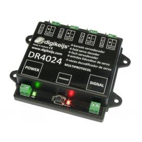 Décodeur pour 4 servomoteurs DIGIKEIJS DR4024