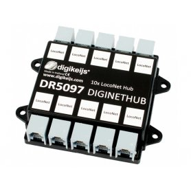 Hub LocoNet 10 sorties DIGIKEIJS DR5097