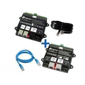 2x Modules de rétrosignalisation 32 entrées, R-BUS / S88N DIGIKEIJS DR4088RB-BOX