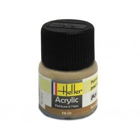 Or Heller 16 acrylique - 12ml - HELLER 9016