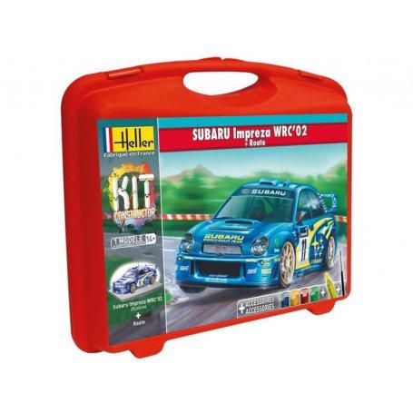 SUBARU Impreza WRC'02 avec peinture - échelle 1/43 - HELLER 60199