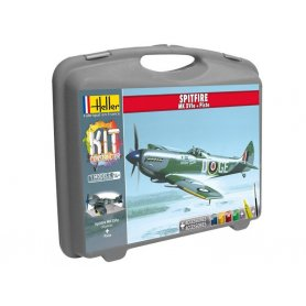 Spitfire Mk XVIe avec peinture - échelle 1/72 - HELLER 60282