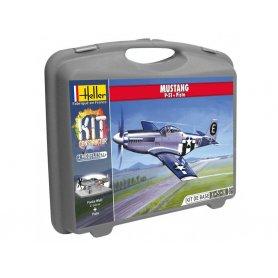 MUSTANG P-51D avec peinture - échelle 1/72 - HELLER 60268