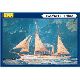 Bateau Fauvette - échelle 1/200 - HELLER 80612