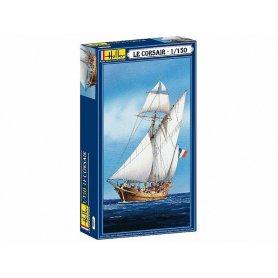Voilier Le Corsair - échelle 1/150 - HELLER 80616