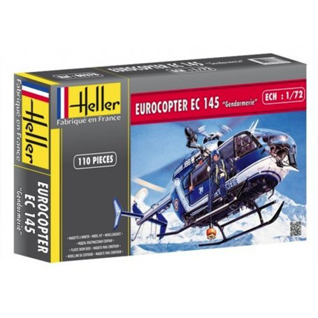 EUROCOPTER EC 145 Gendarmerie - 1/72 - HELLER 80378