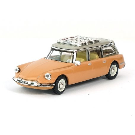 Citroën ID Break 1960 - écaille blonde brown - HO 1/87 - NOREV 155054