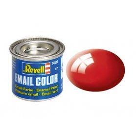 Rouge feu brillant Revell 31 peinture email enamel - 14ml - REVELL 32131