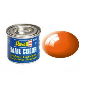 Orange brillant Revell 30 peinture email enamel - 14ml - REVELL 32130