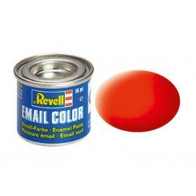 Orange fluo mat Revell 25 peinture email enamel - 14ml - REVELL 32125
