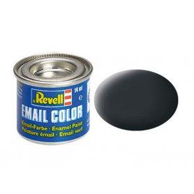 Gris anthracite mat Revell 09 peinture email enamel - 14ml - REVELL 32109