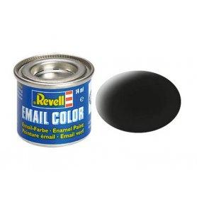 Noir mat Revell 08 peinture email enamel - 14ml - REVELL 32108