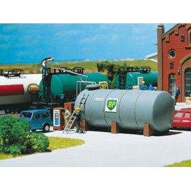 Réservoir de gasoil pour dépôt ferroviaire échelle HO FALLER 130948