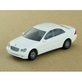 Mercedes Benz Classe C blanche - HO 1/87 - BUSCH 89134