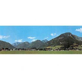Fond de décor montagne extension - FALLER 180517