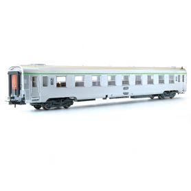 Voiture DEV Inox B10 1/2t 2ème classe ép. V - SNCF - HO - JOUEF HJ4110