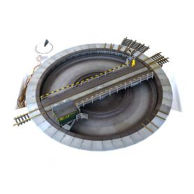 Occasion pont tournant motorisé HO Fleischmann 6052