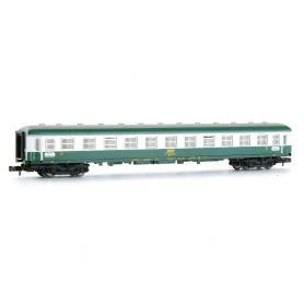 Voiture 2ème classe SNCF B10 UIC époque IV - échelle N - FLEISCHMANN 8152