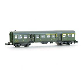 Voiture Romilly 1ère - 2ème classe SNCF époque III - échelle N - Minitrix 13024