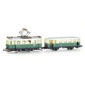 Tramway électrique Echelle N - ARNOLD 2963 + 2973