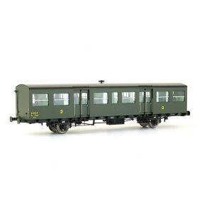 Voiture S-O 2ème classe petites gouttières SNCF ép. IIIb échelle HO - REE VB-153
