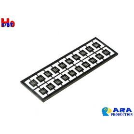 20x plaques NF (non franchissable) - échelle HO - Ara Production