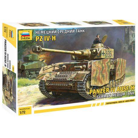 Char Panzer IV Ausf.H - 1/72 - ZVEZDA 5017
