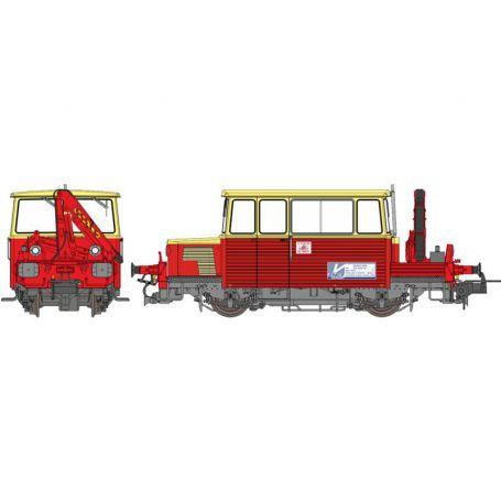 DU65 6 049 OUEST avec GRUE SNCF ép. IV-V analogique - HO - REE MB-109