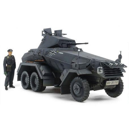 véhicule blindé 6 roues Sd.Kfz.231 WWII - 1/35 - Tamiya 37024