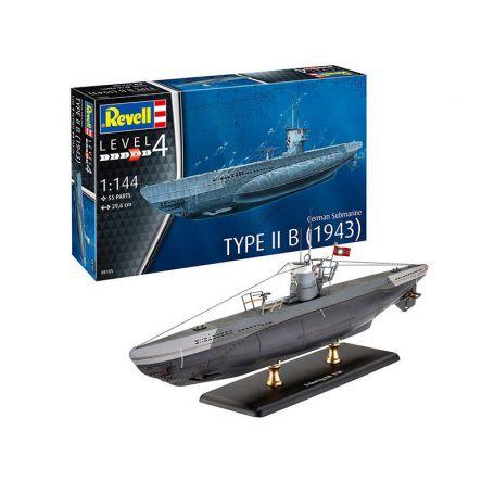 Sous-marin allemand type II B 1943 - échelle 1/144 - REVELL 05155