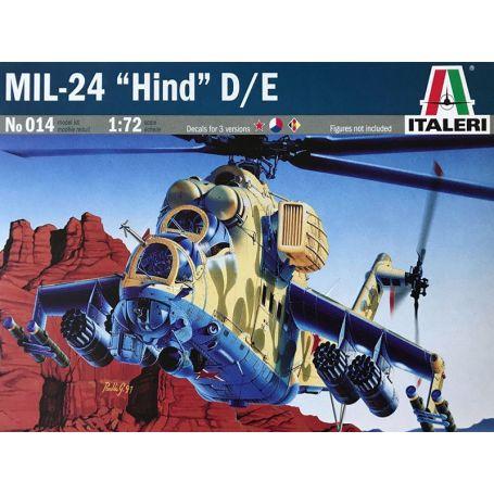 MIL-24 HIND D/E - échelle 1/72 - ITALERI 014