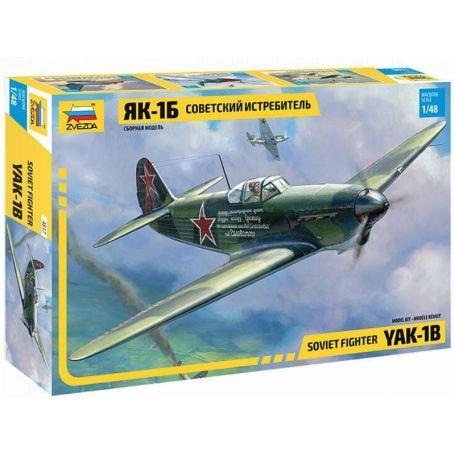 Yak-1b Soviétique décoration Normandie incluse - 1/48 - ZVEZDA 4817