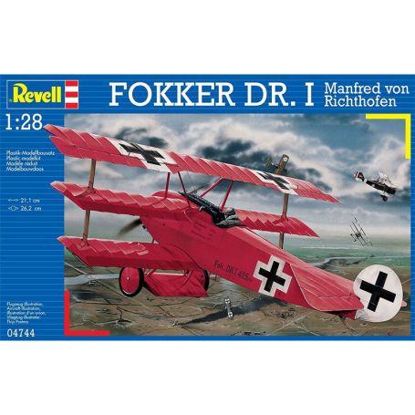Focker DR. I Manfred von Richthofen - échelle 1/28 - REVELL 04744