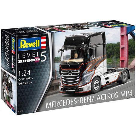 Mercedes-Benz Actros MP4 - échelle 1/24 - REVELL 07439
