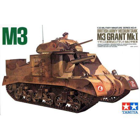 Tank M3 GRANT British Army - 1/35 - Tamiya 35041