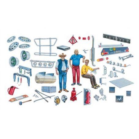 Italeri 720 - Accessoires de camion - échelle 1/24