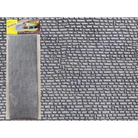2x plaques pierre naturelles taillées decorflex échelle N - FALLER 172650