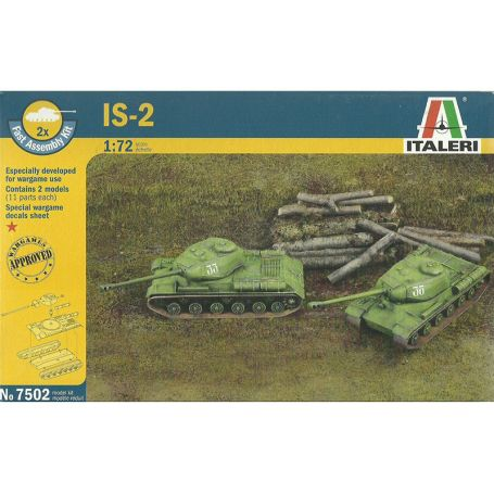 IS-2 Staline WWII - échelle 1/72 - ITALERI 7502