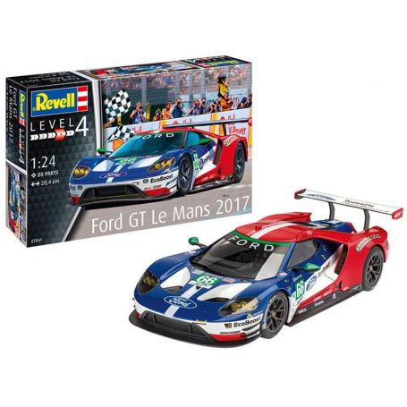 Ford GT Le Mans 2017 - échelle 1/24 - REVELL 07041